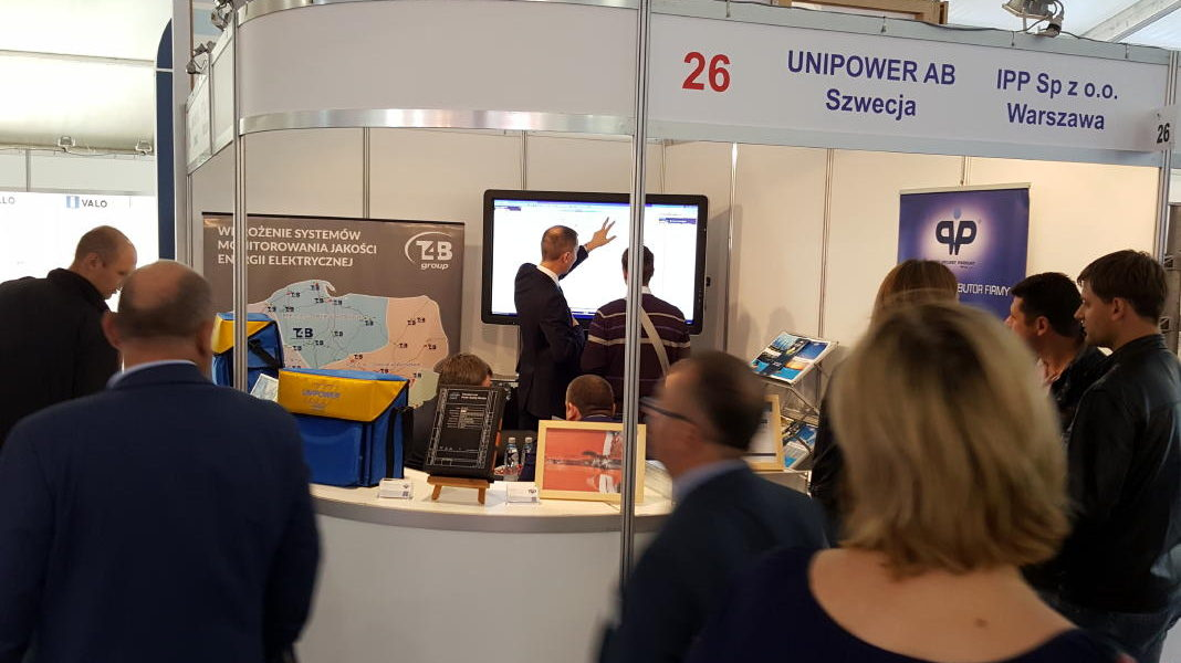 Power Quality interest at ENERGETAB Power Industry Fair in Poland