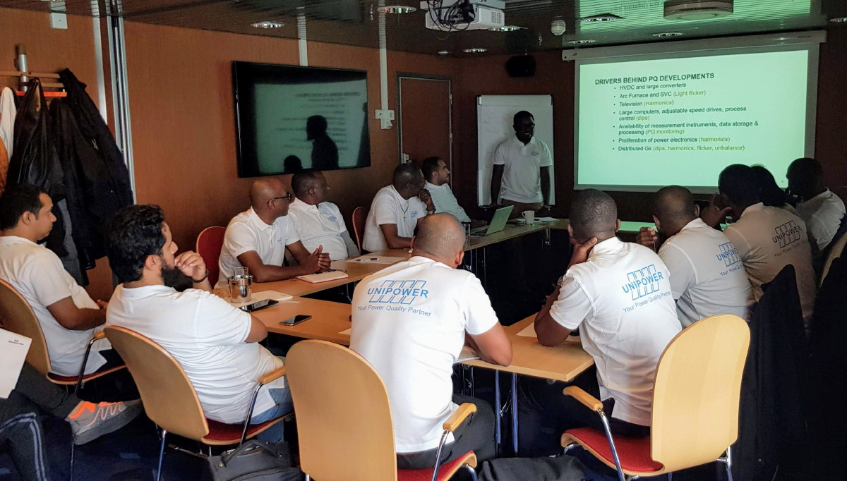 Unipower PQ Workshop welcomed participants from the Middle East and Africa