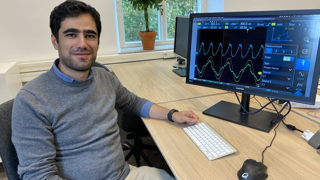Ebrahim is breaking new ground with machine learning methods for power quality analysis
